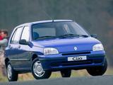 Renault Clio 5-door 1990–97 pictures