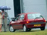 Renault Clio 5-door 1990–97 wallpapers