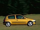 Renault Clio 3-door 1998–2001 photos