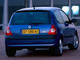 Renault Clio 3-door 2001–05 photos