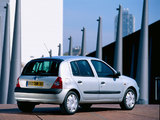 Renault Clio 5-door 2001–05 wallpapers