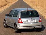 Renault Clio Sport ZA-spec 2002–05 images