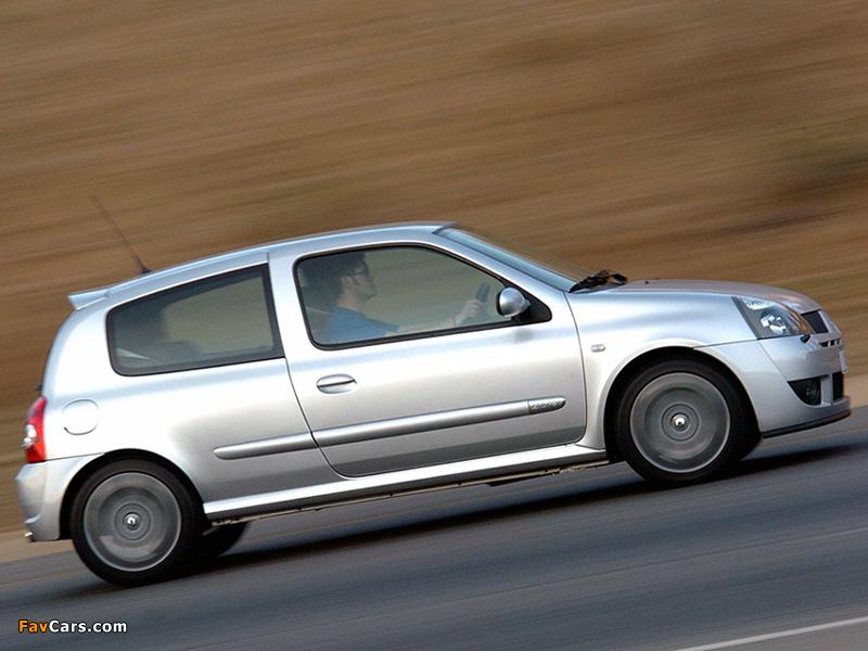 Renault Clio Sport ZA-spec 2002–05 photos (800 x 600)