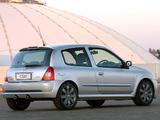 Renault Clio Sport ZA-spec 2002–05 photos