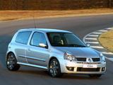 Renault Clio Sport ZA-spec 2002–05 pictures