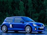 Renault Clio V6 Sport 2003–04 images