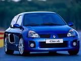 Renault Clio V6 Sport 2003–04 photos
