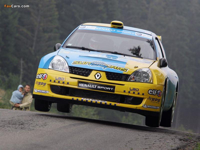 Renault Clio Super 1600 2003 wallpapers (800 x 600)