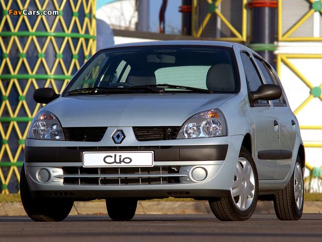 Renault Clio Va Va Voom 2004 photos (640 x 480)