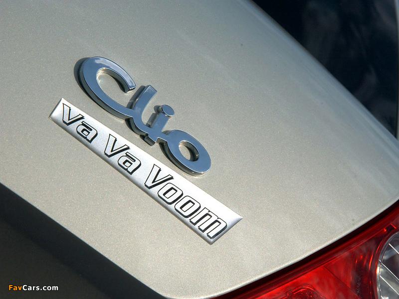 Renault Clio Va Va Voom 2004 pictures (800 x 600)