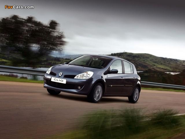 Renault Clio 5-door 2005–09 images (640 x 480)