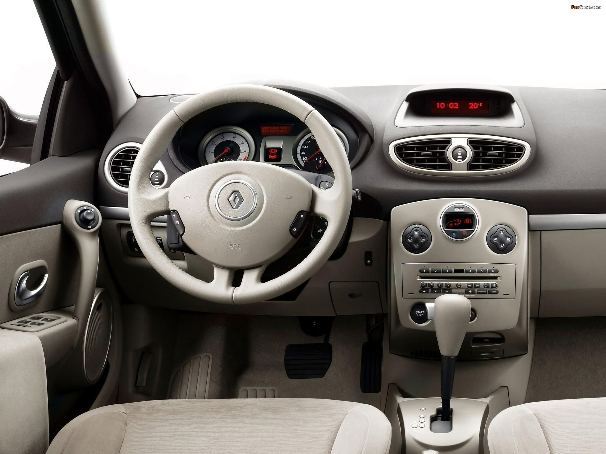 Renault Clio 5-door 2005–09 photos (2048 x 1536)