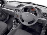 Renault Clio Campus Van UK-spec 2006–09 photos