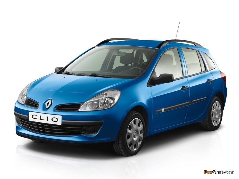 Renault Clio Sport Tourer 2008–09 images (800 x 600)