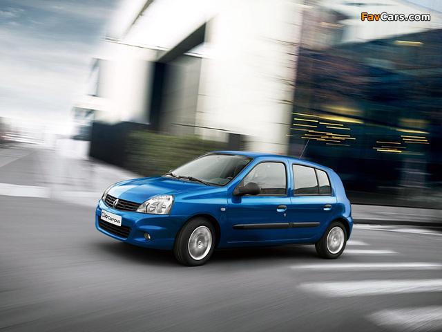 Renault Clio Campus 5-door 2009–12 images (640 x 480)