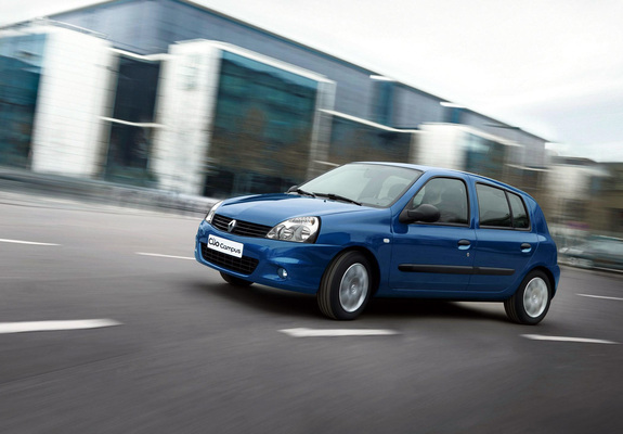 Renault Clio Campus 5 Door 200912 Wallpapers