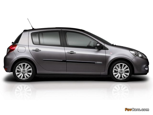 Renault Clio TomTom Edition 2009–12 wallpapers (640 x 480)