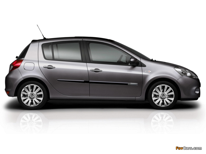 Renault Clio TomTom Edition 2009–12 wallpapers (800 x 600)