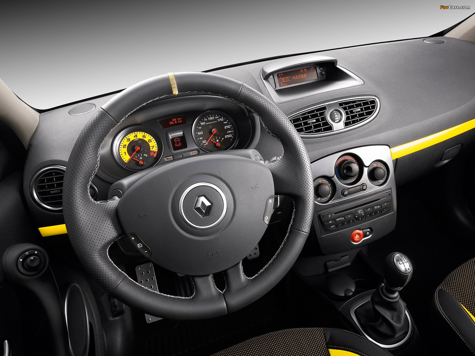 Renault Clio R.S. 2009–12 wallpapers (1600 x 1200)