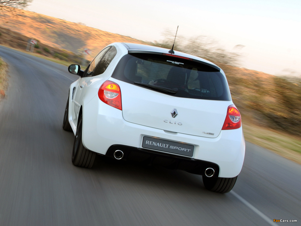 Renault Clio R.S. 20th Limited Edition ZA-spec 2010 images (1280 x 960)