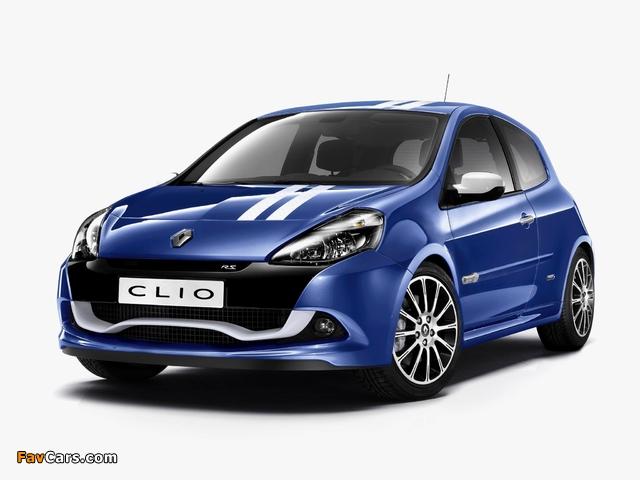 Renault Clio R.S. Gordini 2010–12 images (640 x 480)