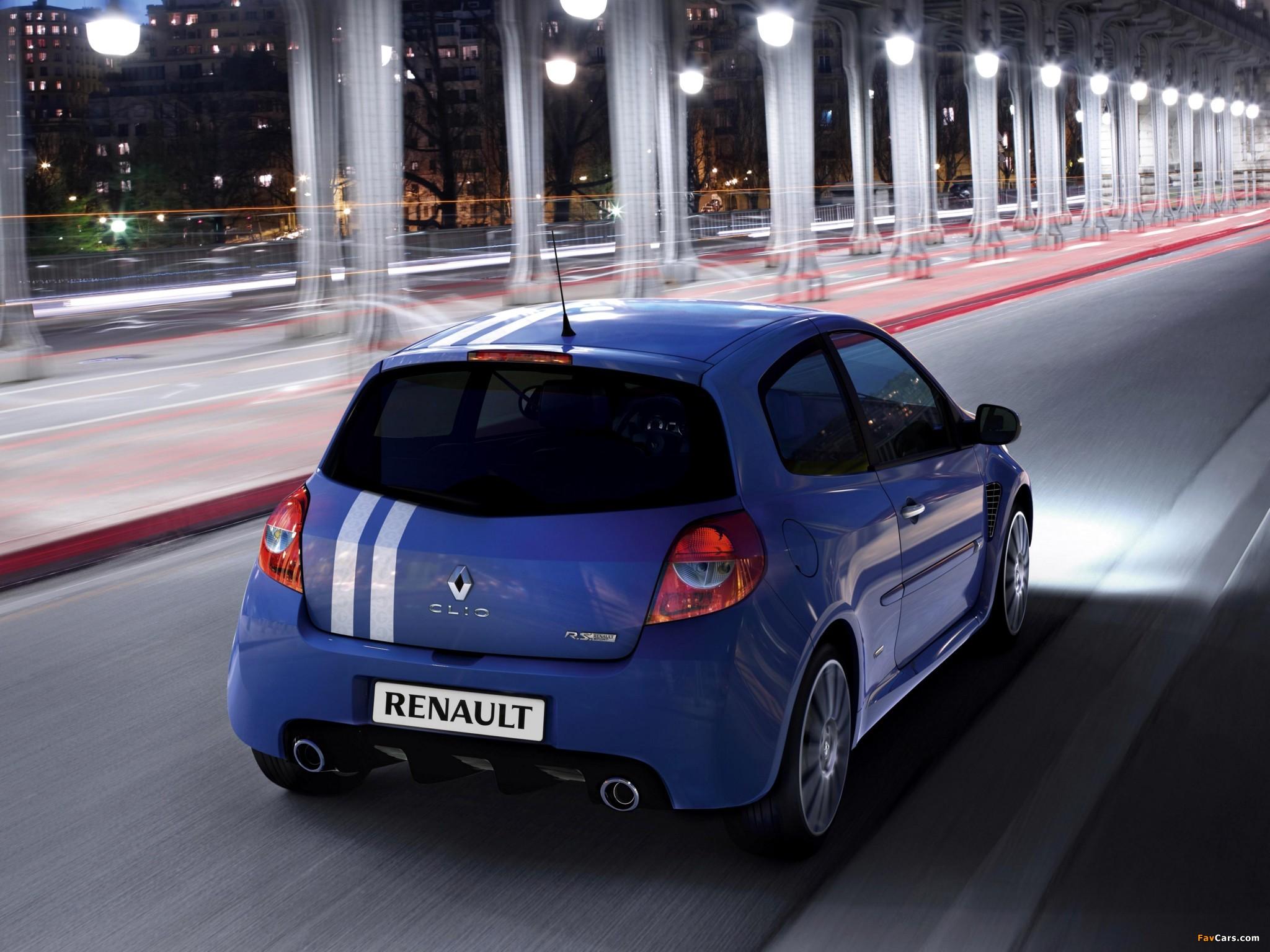 Renault Clio R.S. Gordini 2010–12 photos (2048 x 1536)