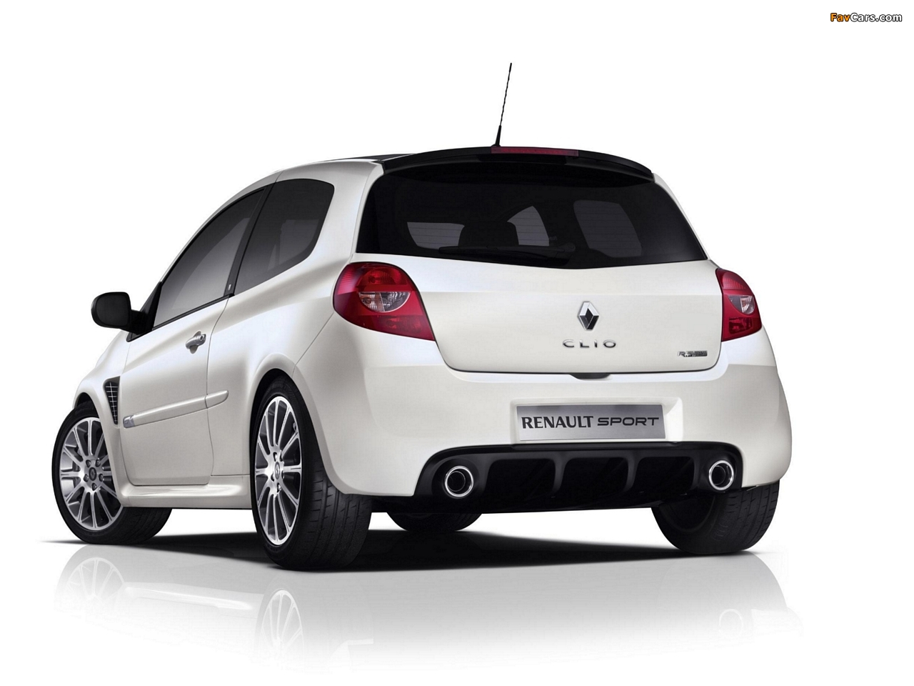 Renault Clio R.S. 20th Limited Edition 2010 wallpapers (1280 x 960)