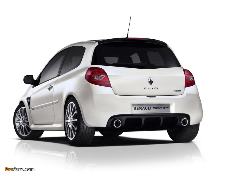 Renault Clio R.S. 20th Limited Edition 2010 wallpapers (800 x 600)