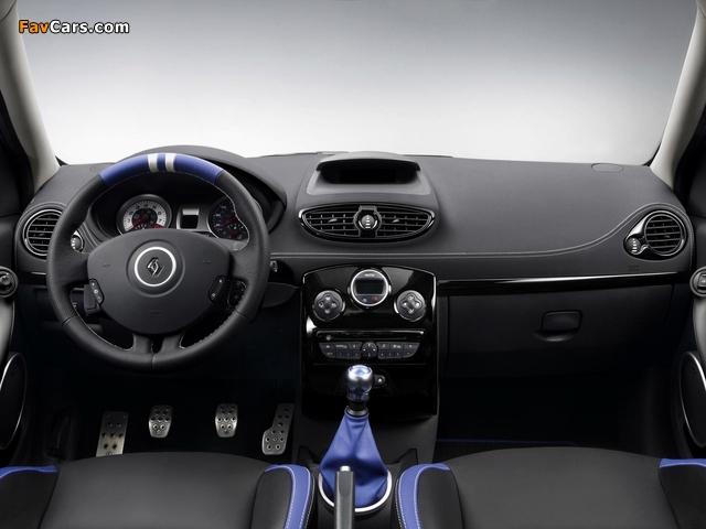 Renault Clio R.S. Gordini 2010–12 wallpapers (640 x 480)
