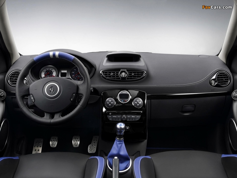 Renault Clio R.S. Gordini 2010–12 wallpapers (800 x 600)