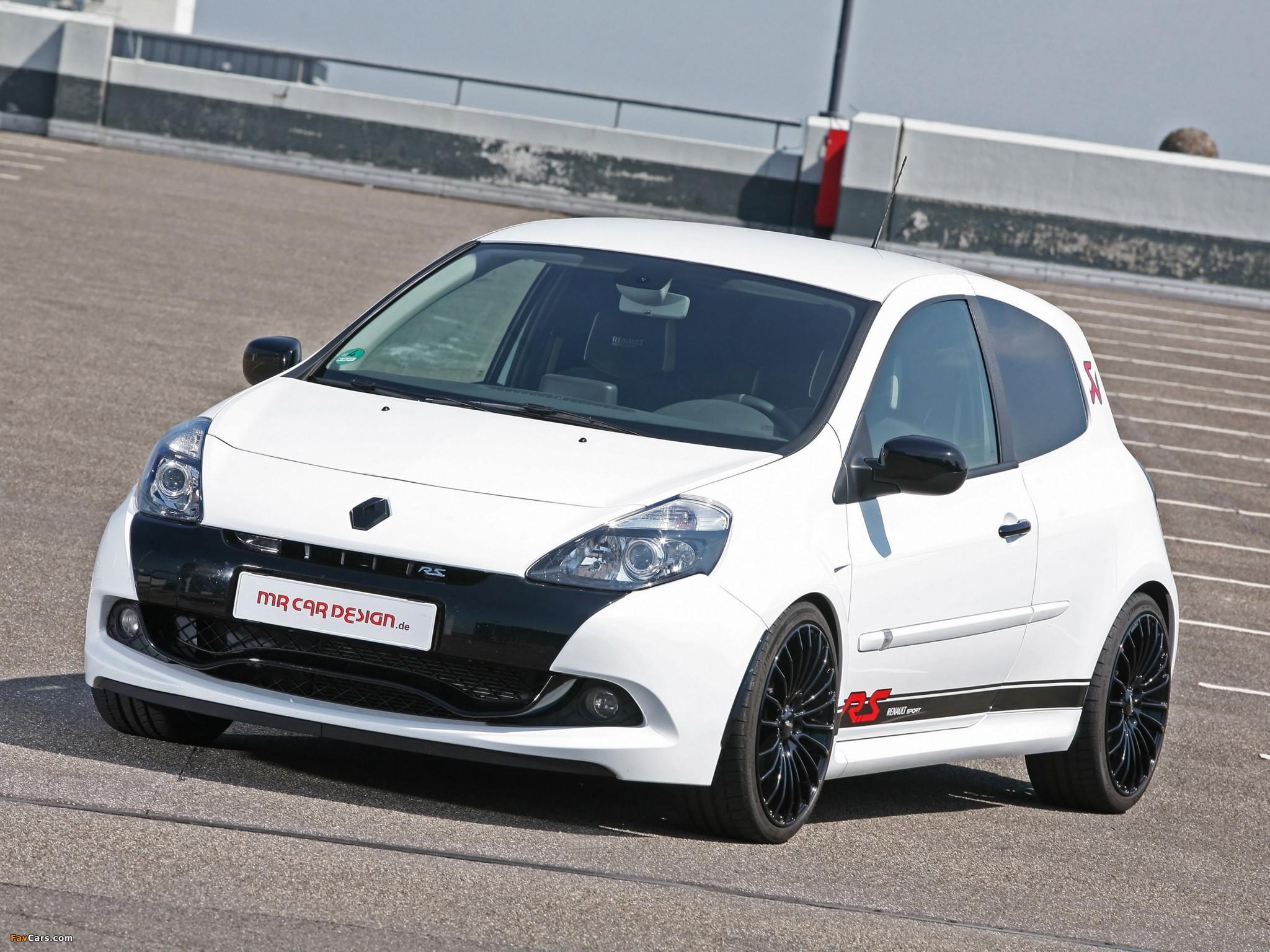 MR Car Design Renault Clio RS 2011 pictures (2048 x 1536)