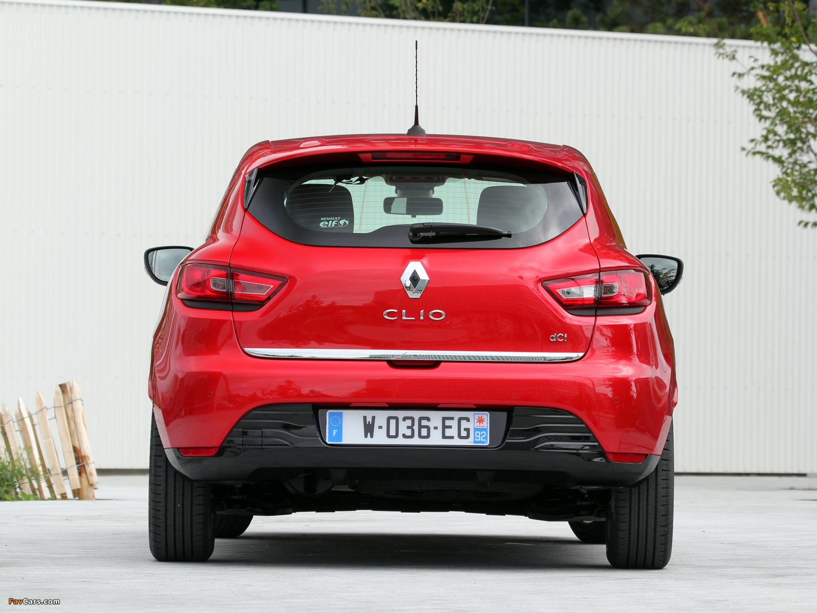 Renault Clio 2012 pictures (1600 x 1200)