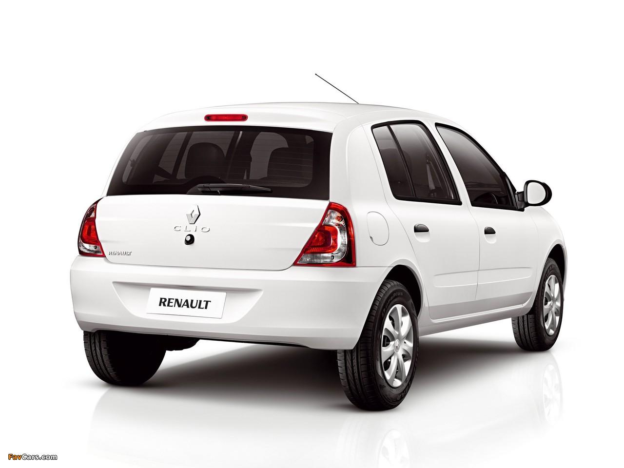 Renault Clio Mercosur 5-door 2012 pictures (1280 x 960)