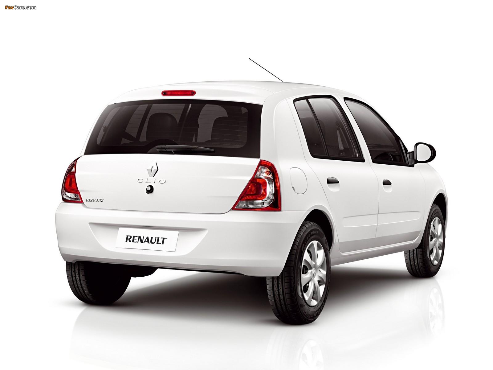 Renault Clio Mercosur 5-door 2012 pictures (1600 x 1200)