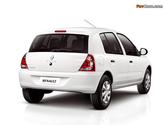 Renault Clio Mercosur 5-door 2012 pictures (640 x 480)