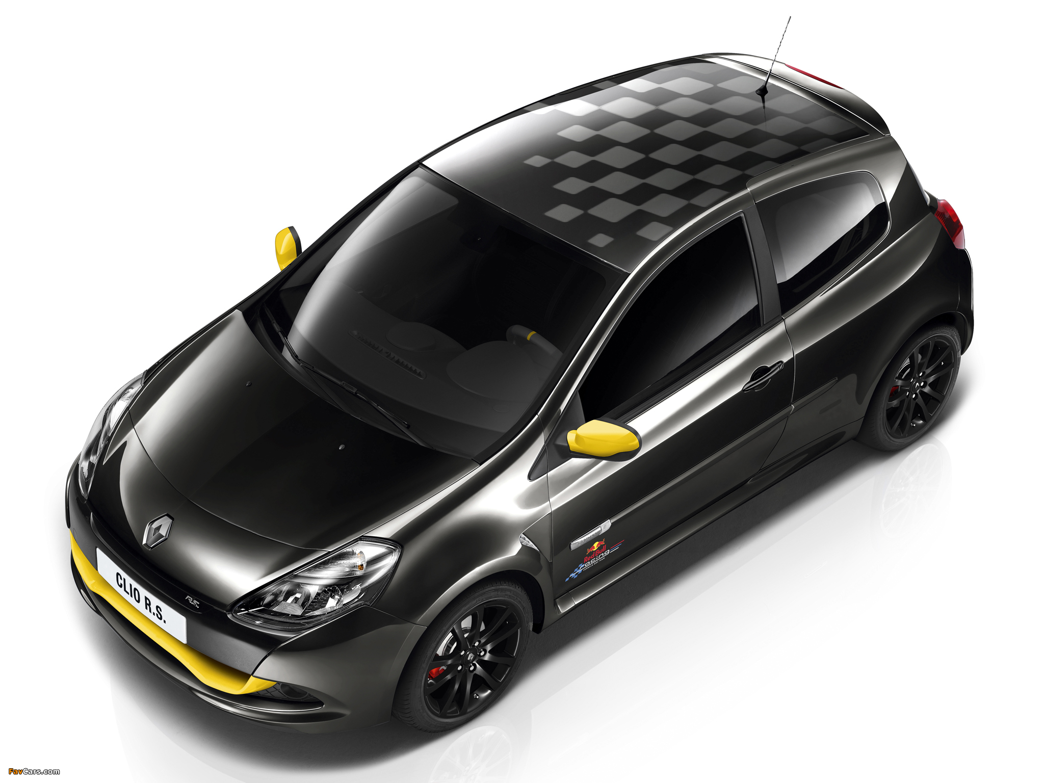 Renault Clio R.S. Red Bull Racing RB7 2012 wallpapers (2048 x 1536)