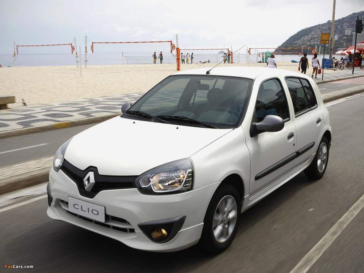 Renault Clio Mercosur 5-door 2012 wallpapers (1280 x 960)