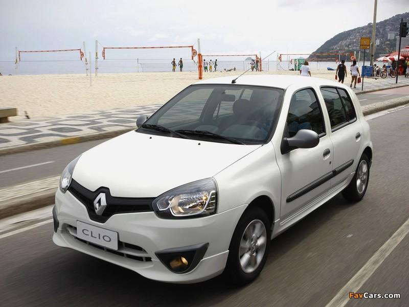 Renault Clio Mercosur 5-door 2012 wallpapers (800 x 600)