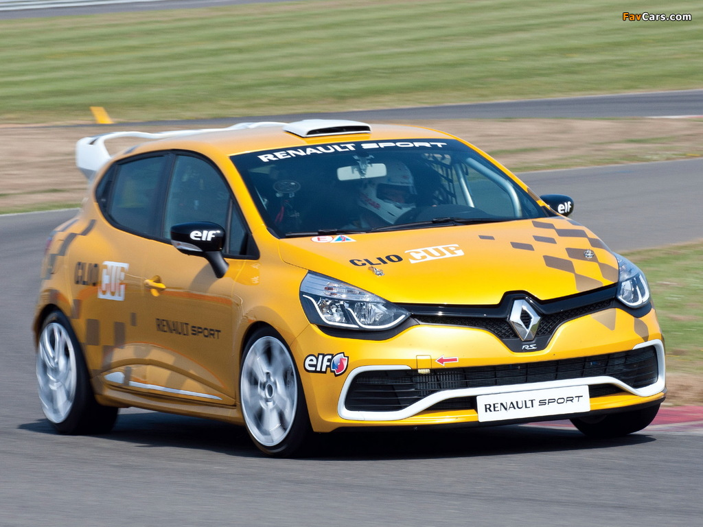 Renault Clio R.S. Cup 2013 pictures (1024 x 768)