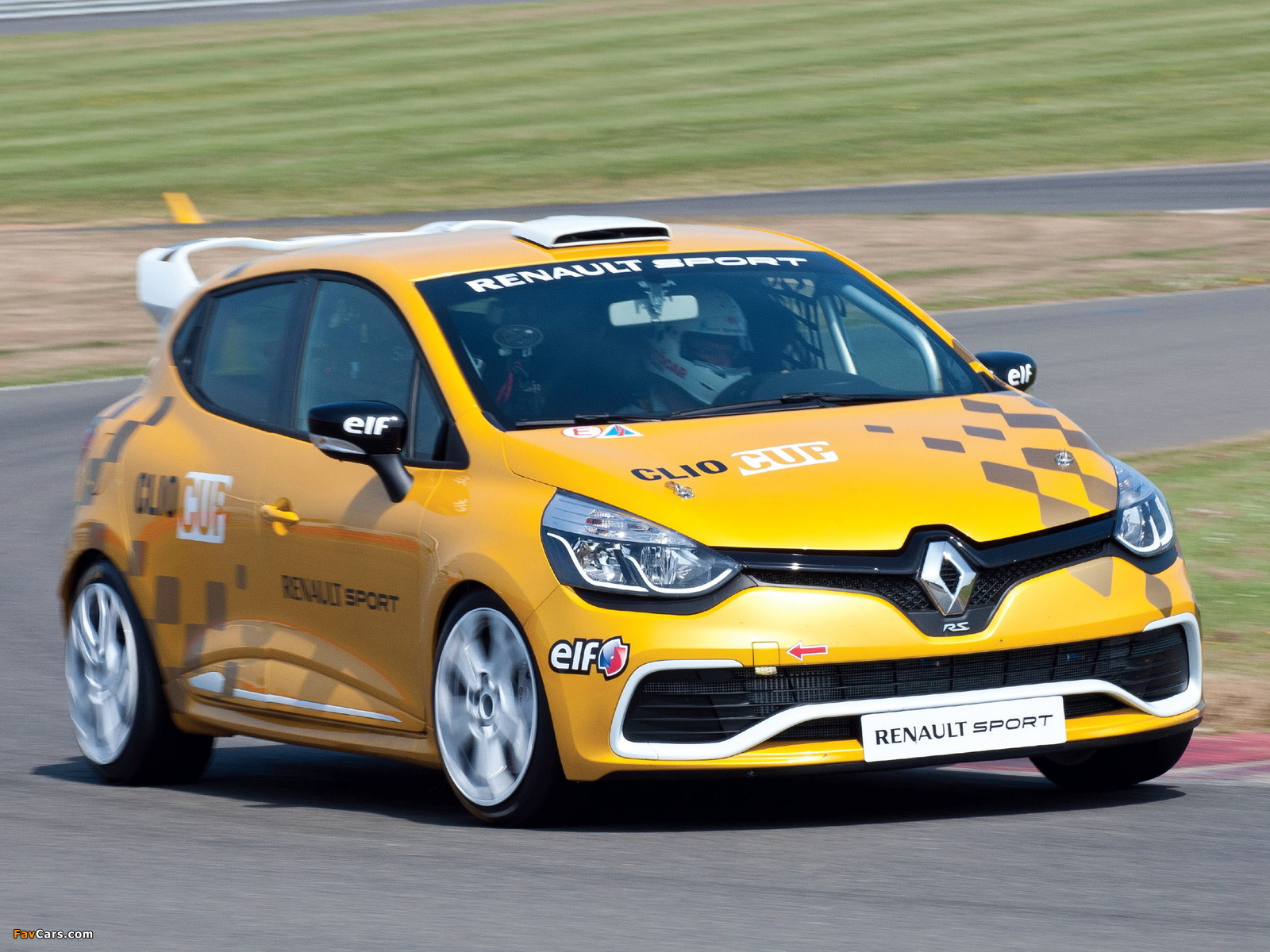 Renault Clio R.S. Cup 2013 pictures (1600 x 1200)