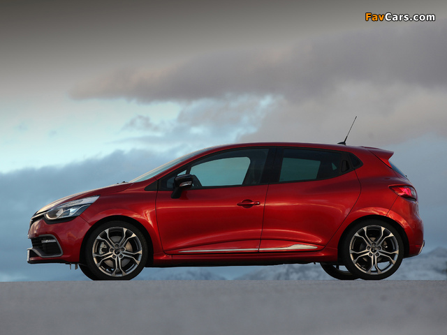 Renault Clio R.S. 200 2013 wallpapers (640 x 480)