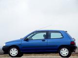 Renault Clio 3-door 1990–97 wallpapers