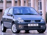 Renault Clio 3-door 2001–05 wallpapers