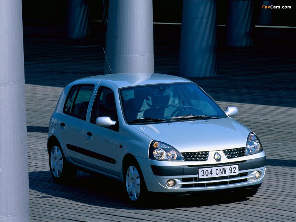 Renault Clio 5 Door 2001 05 Wallpapers 1024x768