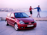 Renault Clio RS 2002–05 wallpapers
