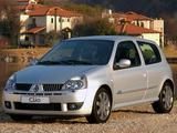 Wallpapers of Renault Clio Sport ZA-spec 2002–05