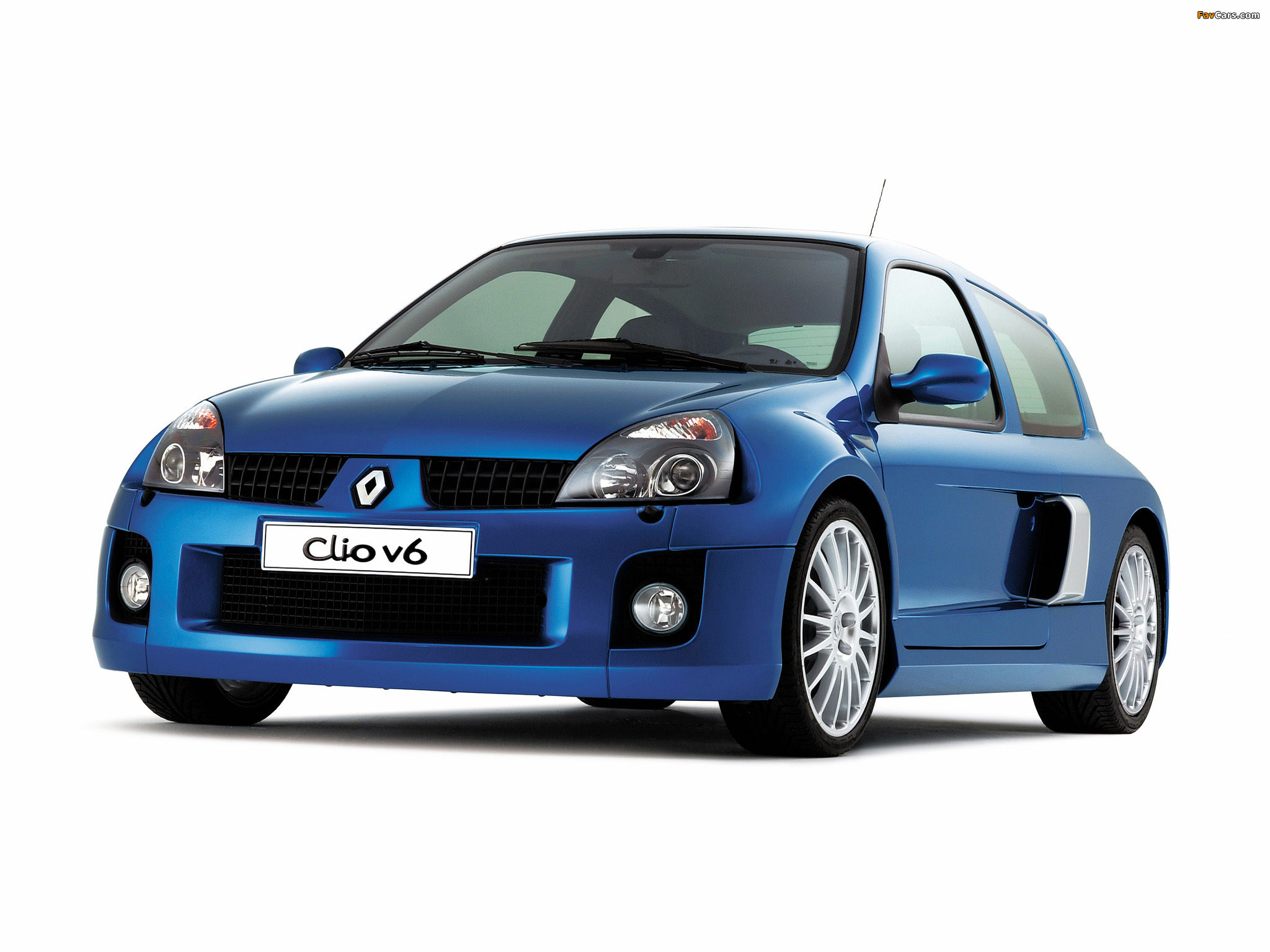 Renault Clio V6 Sport 2003–04 wallpapers (2048 x 1536)