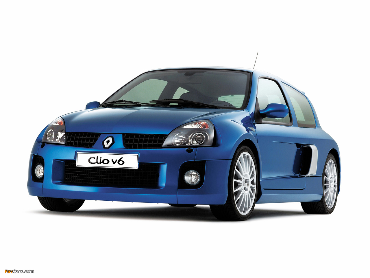 Renault Clio V6 Sport 2003–04 wallpapers (1280 x 960)