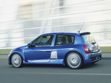 Renault Clio V6 Sport 2003–04 wallpapers