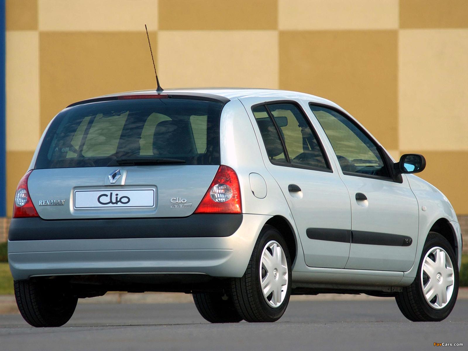 Renault Clio Va Va Voom 2004 wallpapers (1600 x 1200)
